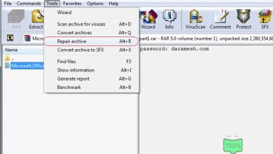 Photo of آموزش تعمیر فایل فشرده CRC error یا The file is corrupt