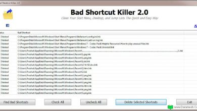 Photo of Bad Shortcut Killer نرم افزار حذف میانبرهای بدون مقصد