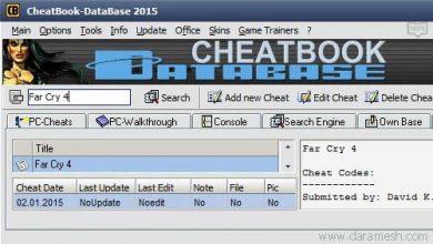 Photo of CheatBook DataBase 2017 v1.0 نرم افزار جامع کدهای تقلب بازی