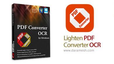 Photo of دانلود Lighten PDF Converter OCR v6.1.0 – نرم افزار تبدیل فایل های پی دی اف با قابلیت نویسه خوانی نوری