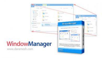 Photo of دانلود WindowManager v6.1.0 نرم افزار مدیریت پنجره ها در ویندوز