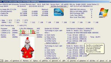 Photo of دانلود  System Information Viewer 5.32 مشاهده کامل اطلاعات سخت افزاری