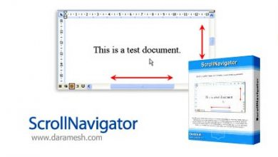 Photo of دانلود ScrollNavigator v5.10.0 نرم افزار پیمایش افقی و عمودی پنجره ها