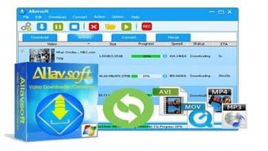 Photo of Allavsoft Video Downloader Converter  – نرم افزار دانلود و تبدیل فرمت دسته ای فایل های ویدئویی در ویندوز