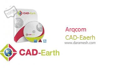 Photo of دانلود Arqcom CAD-Earth v6.0 – نرم افزار تبادل تصاویر، نقشه ها و مش ها ما بین Google Earth و نرم افزار های CAD