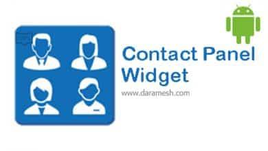 Photo of دانلود Contact Panel Widget 5.7.0.8 برای اندروید