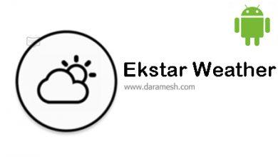 Photo of دانلود Ekstar Weather 4.0 برای اندروید