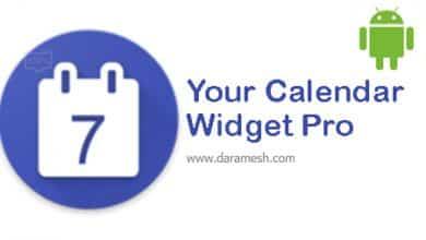 Photo of دانلود Your Calendar Widget PRO 1.35.2 برای اندروید
