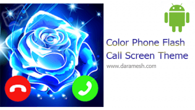 Photo of Color Phone Flash  Call Screen Theme 1.3.7   تم گرافیکی تماس  اندروید