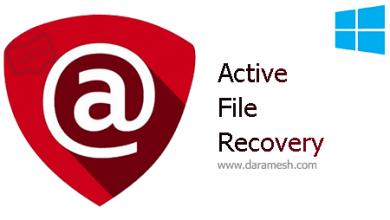 Photo of دانلود دنرم افزار بازیابی اطلاعات پاک شده_Active File Recovery Ultimate 19.0.9 + Portable