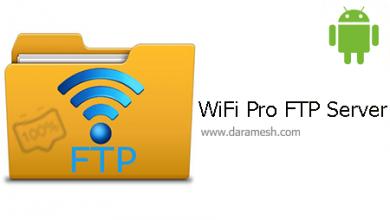 Photo of دانلود برنامه تبدیل اندروید به سرور WiFi Pro FTP Server 1.9.1 _ FTP