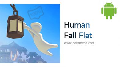"Photo of دانلود بازی پازلی متفاوت و خارق العاده ""انسان: سقوط آزاد"" اندروید + دیتا Human: Fall Flat 1.0 b34"