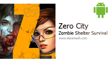 "Photo of دانلود بازی شبیه سازی فوق العاده ""زیرو سیتی"" اندروید + مود _ Zero City: Zombie Shelter Survival 1.7.1"
